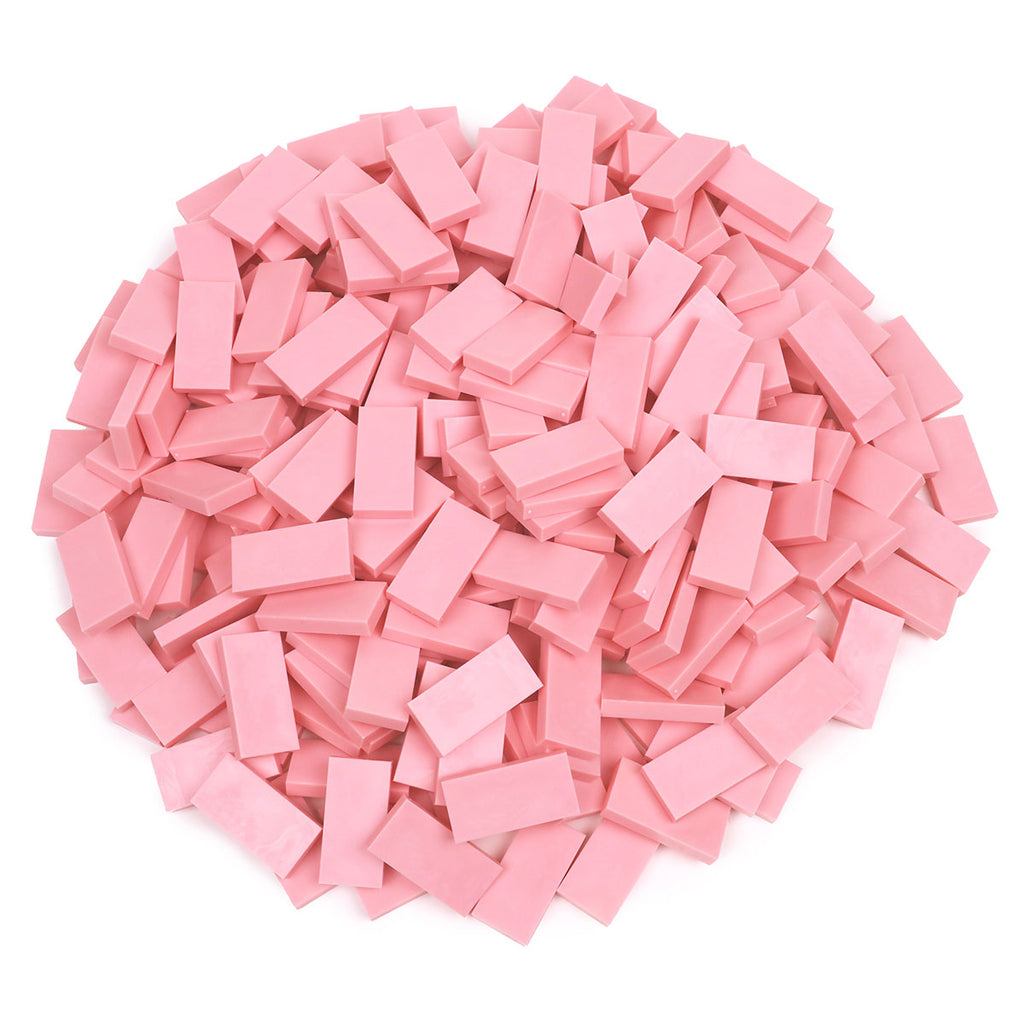 Bulk Dominoes - Light Pink