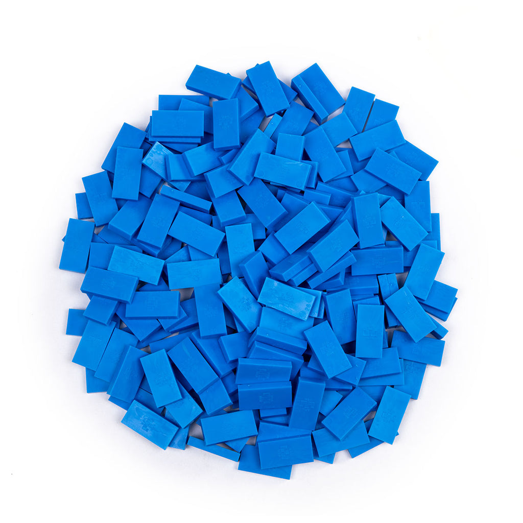 Bulk Dominoes - Mini Blue