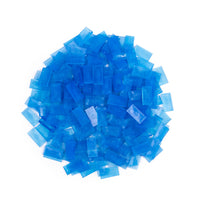 Bulk Dominoes - Mini Clear Blue