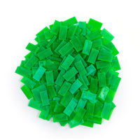 Bulk Dominoes - Mini Clear Green