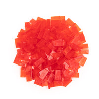 Bulk Dominoes - Mini Clear Red