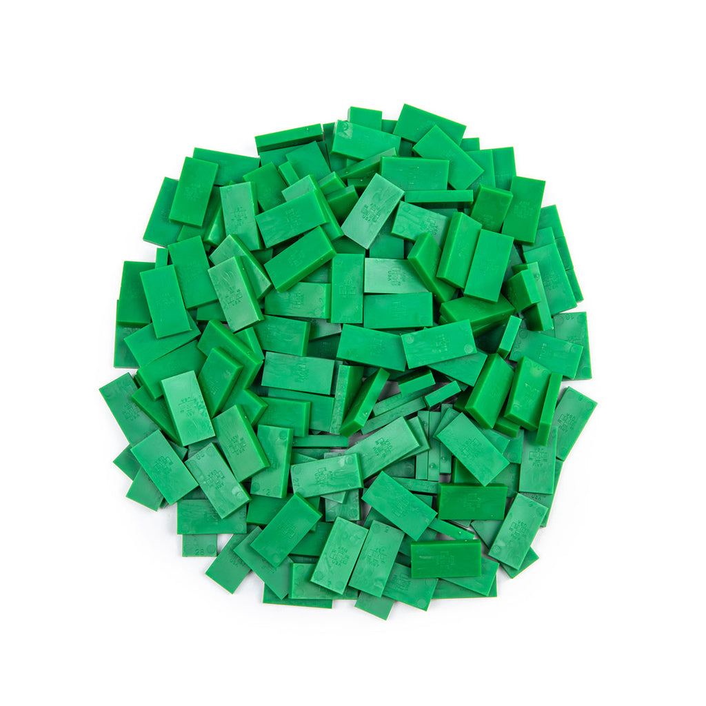 Bulk Dominoes - Mini Green
