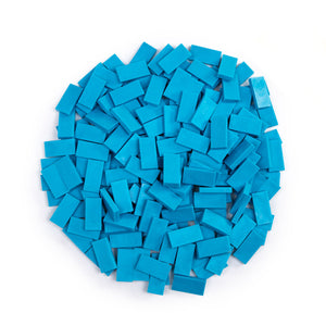 Bulk Dominoes - Mini Island Blue