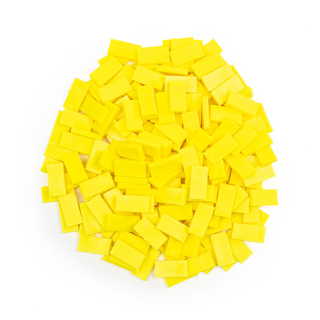 Bulk Dominoes - Mini Neon Yellow