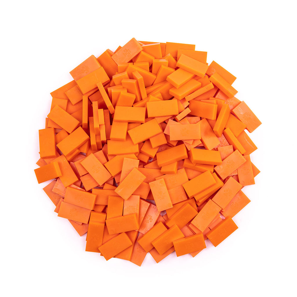 Bulk Dominoes - Mini Orange