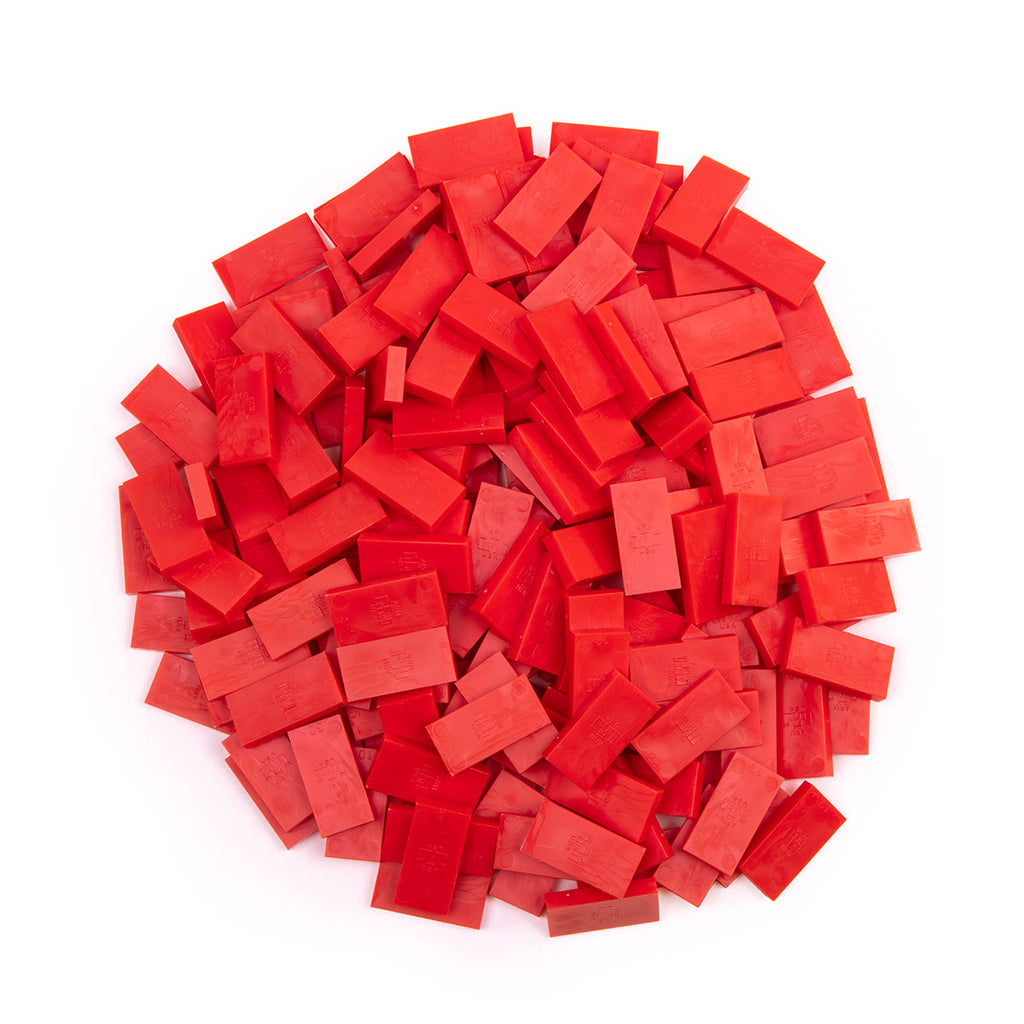 Bulk Dominoes - Mini Red