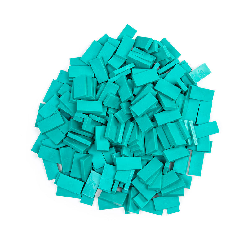 Bulk Dominoes - Mini Teal