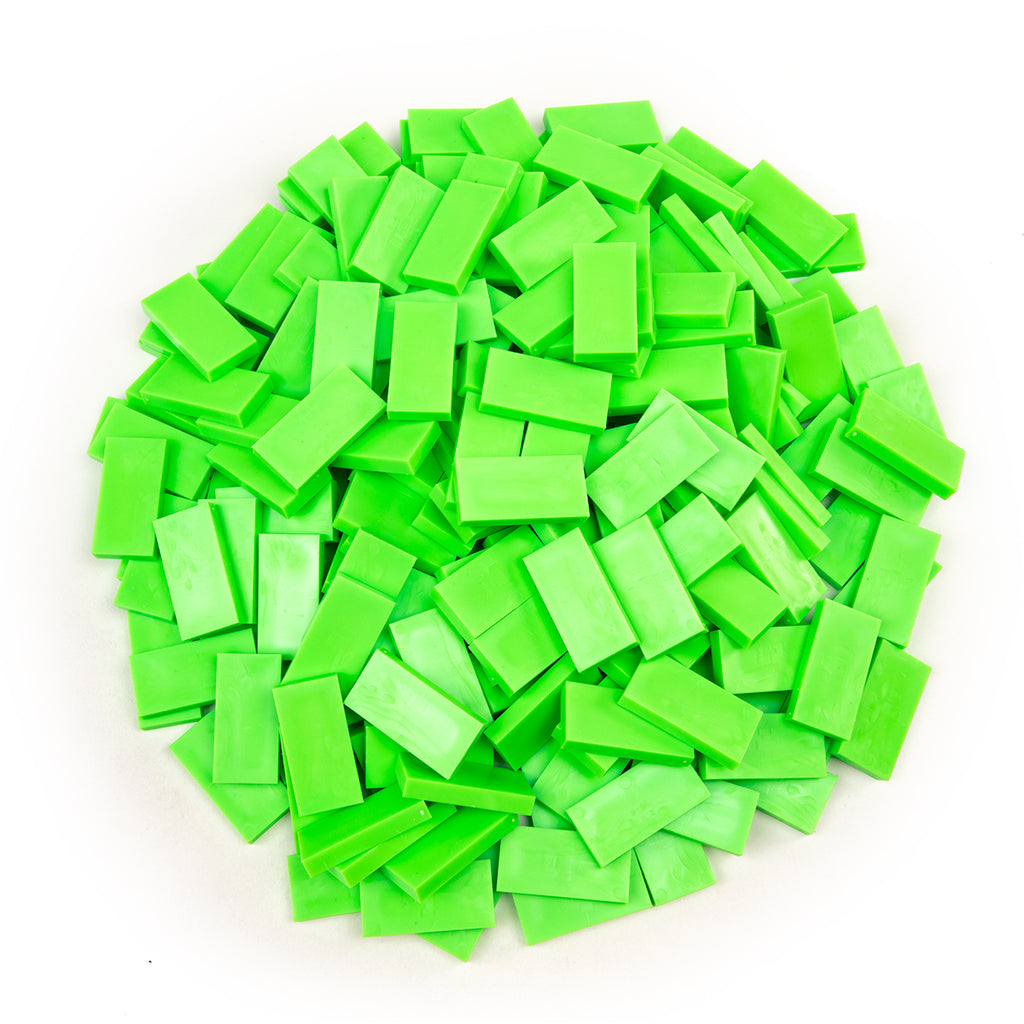 Bulk Dominoes - Neon Green