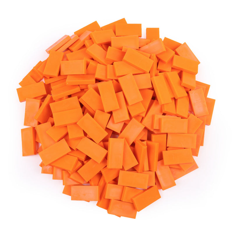 Bulk Dominoes - Neon Orange