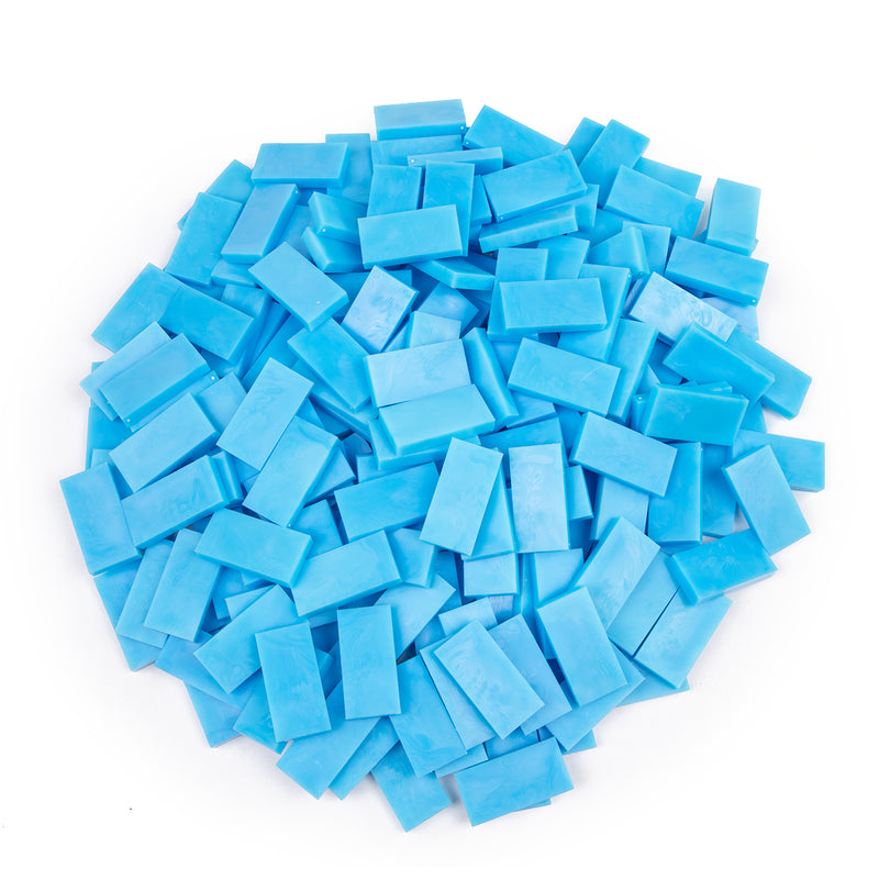 Bulk Dominoes - Sky Blue
