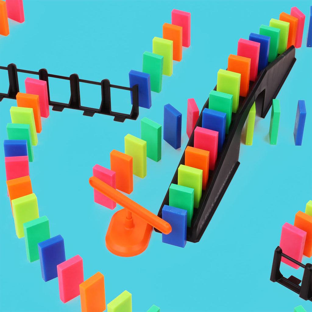 Bulk Dominoes - Neon Basics