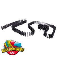 Bulk Dominoes - Black