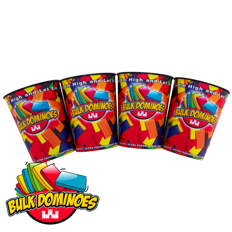 Bulk Domino Cups - 4 Pack