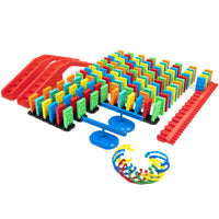143 Pcs Kinetic Domino Toppling Kit