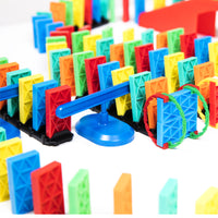 144 Pcs Kinetic Domino Toppling Kit