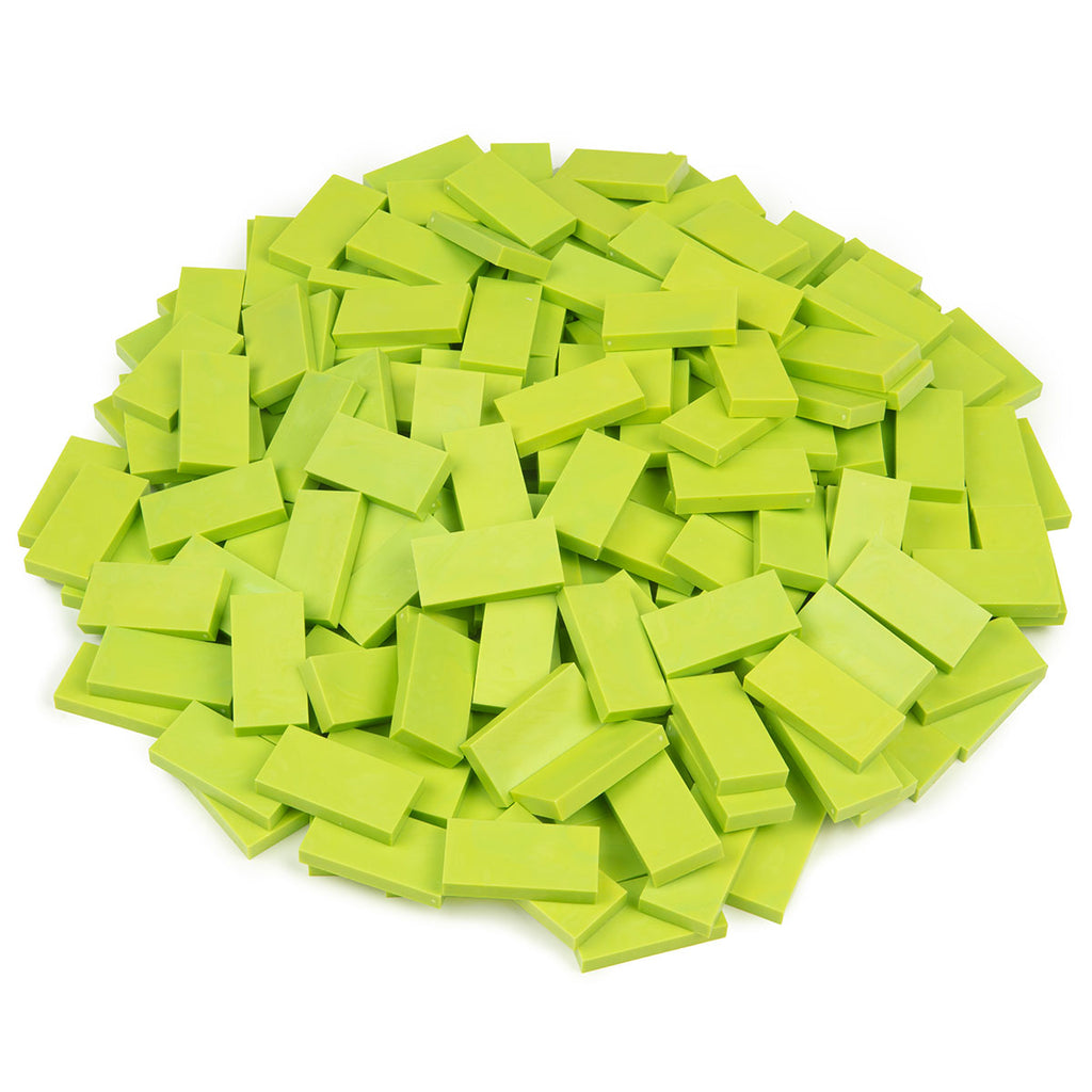 Bulk Dominoes - Chartreuse