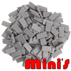 Mini dominoes - Grey