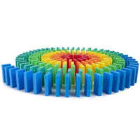 bulk dominoes Kinetic spiral