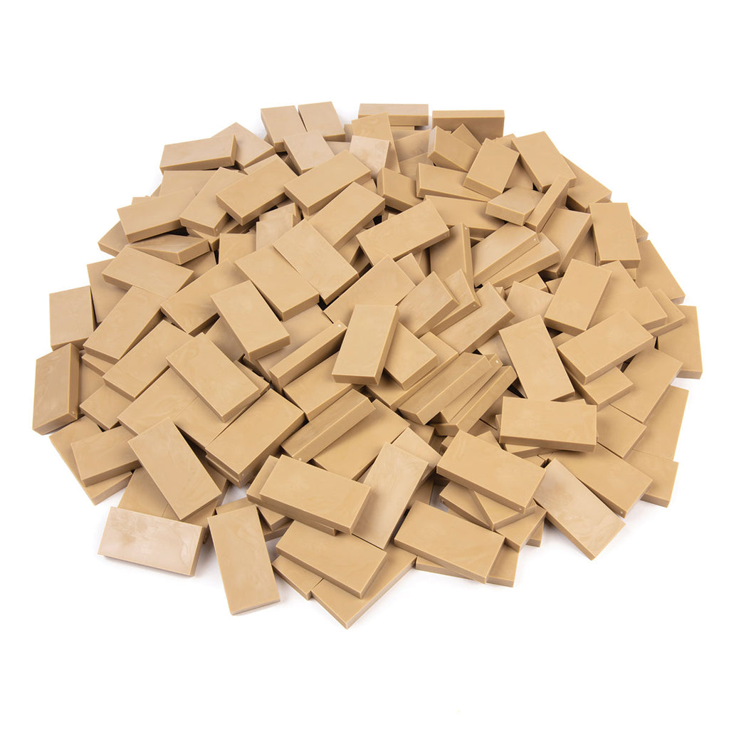 Bulk Dominoes - Tan