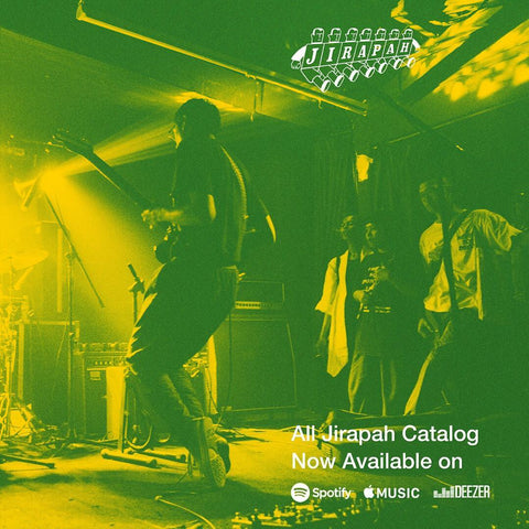 All Jirapah's Catalog is Now Available on Your Favorite Streaming Channel
