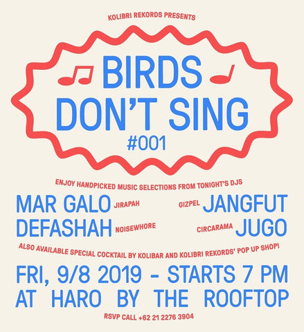 Introducing Our Newest Installment of Music Selection : Birds Dont Sing