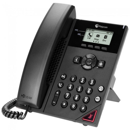 VVX 150 2-line Desktop Business IP Phone with dual 10/100 Ethernet ports. PoE only. Ships without power supply. 3 year partner premier service is included for China mexico monterrey online teleinformatica del norte teldelnorte.com