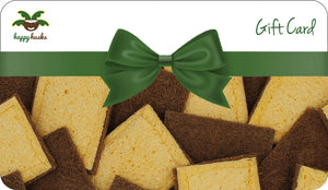 HappyHusks Giftcard for compostable, plastic-free, eco-friendly sponges