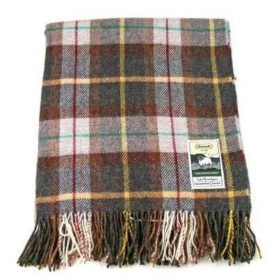 100% British Wool Fashion Blanket - Farmers Fields - Poe and Company Limited - Blanket - Flat Cap