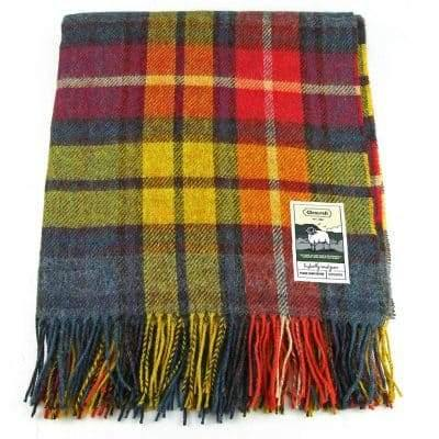 100% British Wool Fashion Blanket - Harvest Festival - Poe and Company Limited - Blanket - Flat Cap
