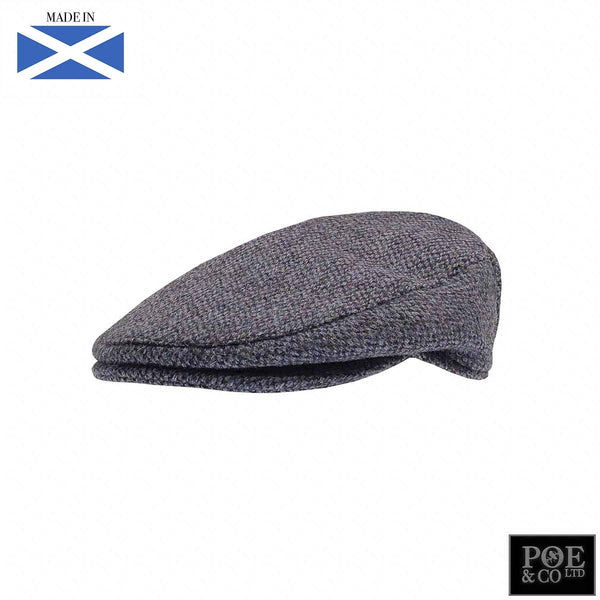 Ambleside Flat Cap in Chelsea Harris Tweed - Poe and Company Limited - Flat Cap - Flat Cap