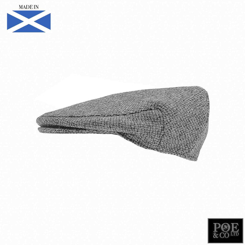Ambleside Flat Cap in Daplin Harris Tweed - Poe and Company Limited - Flat Cap - Flat Cap