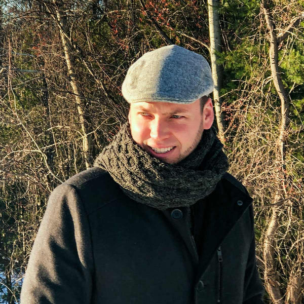 Aran Knit Scarves - Poe and Company Limited - Scarves - Flat Cap