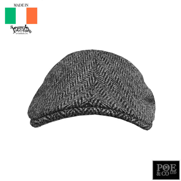 Erin Flat Cap in Hamilton Tweed by Hanna - Poe and Company Limited - Flat Cap - Flat Cap