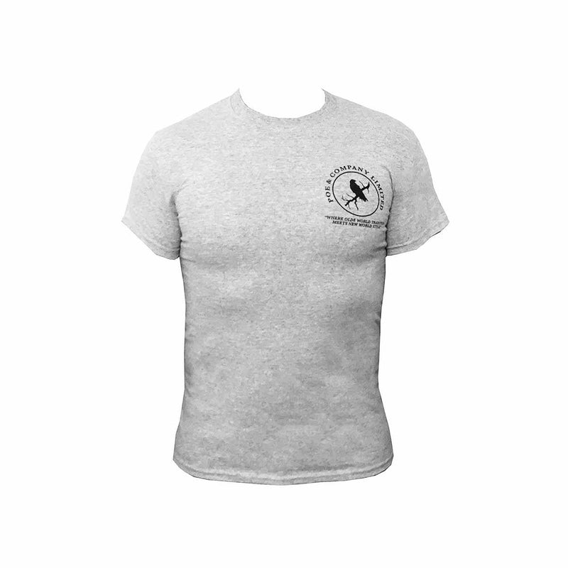 """Felix the Raven"" Sport T-Shirt - Poe and Company Limited - T-Shirt - Flat Cap"
