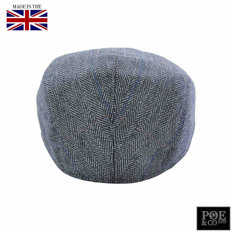 Poe & Company Castleford Flat Cap in Capitol Tweed - Poe and Company Limited - Flat Cap - Flat Cap