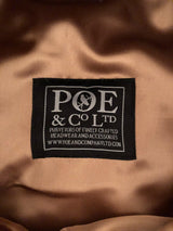 Poe & Company Castleford Flat Cap in Gage Tweed - Poe and Company Limited - Flat Cap - Flat Cap