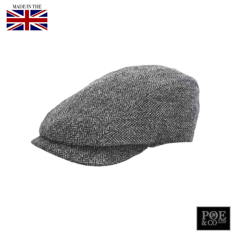 Poe & Company Castleford Flat Cap in Hamilton Tweed - Poe and Company Limited - Flat Cap - Flat Cap