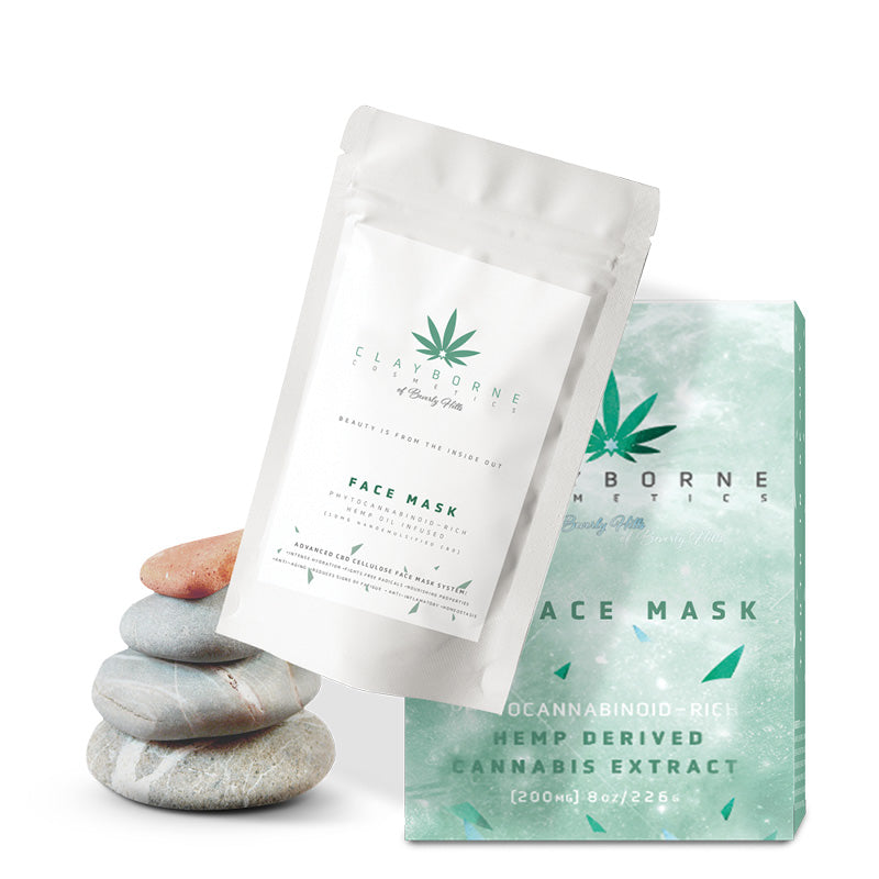 Phytocannabinoid-Rich Hemp Oil Infused Face Mask