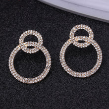 Load image into Gallery viewer, Shining Round Luxury Dangle Earrings