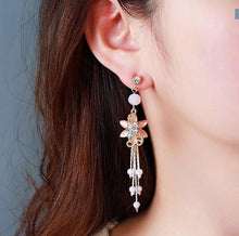 Load image into Gallery viewer, Long Tassel Exquisite Pendant Earrings - earringsly