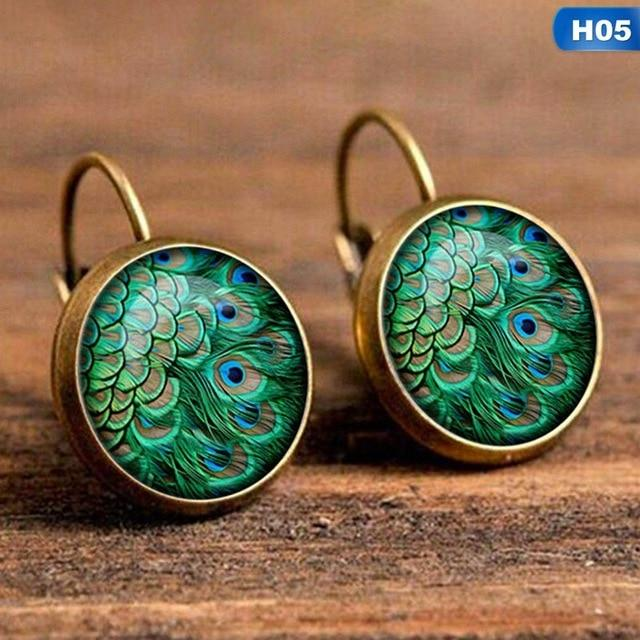 Bohemia Vintage patterned Earrings - earringsly