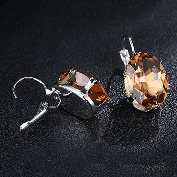 Charming Luxury Cubic Stud Earrings
