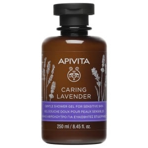 APIVITA CARING LAVENDER GENTLE SHOWER GEL FOR SENSITIVE SKIN 250ML