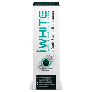 iwhite dark stains toothpaste 75ml