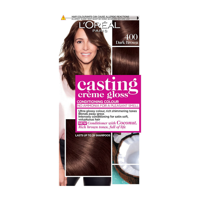 L'OREAL CASTING CREME GLOSS DARK BROWN 400