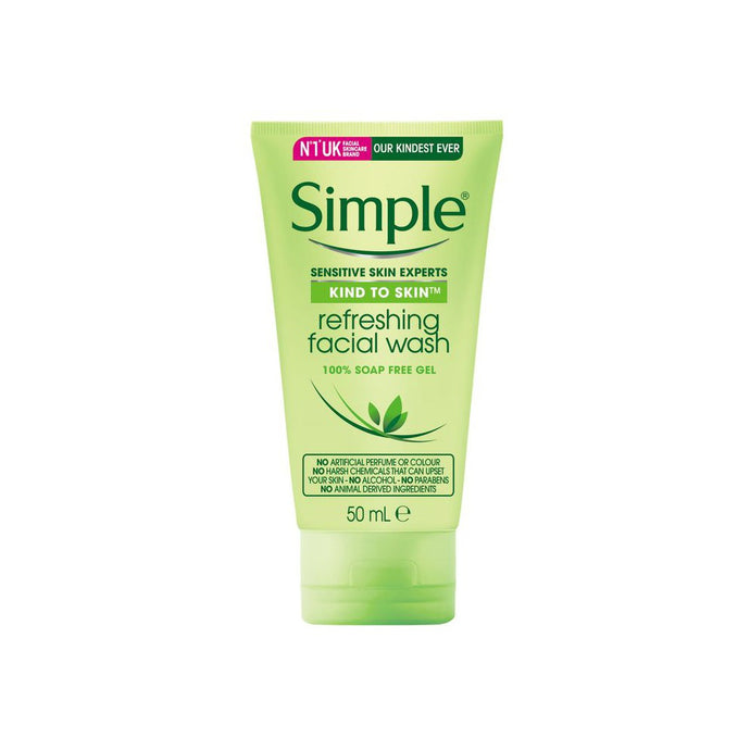 SIMPLE REFRESHING FACIAL GEL WASH 150ML
