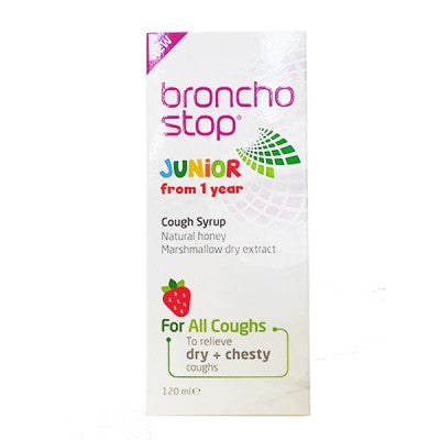 Bronchostop Cough Syrup Junior from 1 Year 120ml