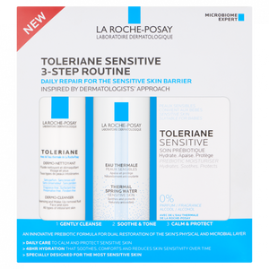 La Roche Posay Toleriane Sensitive 3 Step Routine