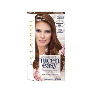 Clairol Nice N Easy Permanent Hair Dye 5Wr Medium Warm Auburn