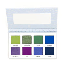 Load image into Gallery viewer, SOSU x CLE Makeup Azure Allure Eyeshadow Pallette